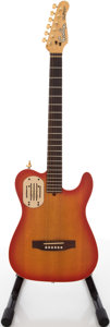 Musical Instruments:Electric Guitars, Godin Acoustic Cherry Sunburst Semi-Hollow Body Electric Guitar,#15339....