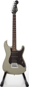 Musical Instruments:Electric Guitars, 1985 Fender Japan Stratocaster Silver Solid Body Electric Guitar, #E550049....