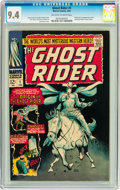 Silver Age (1956-1969):Western, The Ghost Rider #1 (Marvel, 1967) CGC NM 9.4 Off-white to whitepages....