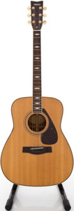 Musical Instruments:Acoustic Guitars, Yamaha FG-375S Natural Acoustic Guitar, #91005544....