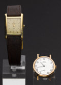 Timepieces:Wristwatch, Concord & Girard Perregaux Ladies Gold Wristwatches. ... (Total: 2 Items)