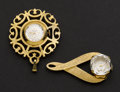 Timepieces:Pendant , Swiss Two Fancy Pendant Watches Runners. ... (Total: 2 Items)