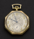Timepieces:Pocket (post 1900), Waltham 14k Gold 12 Size. ...
