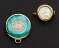 Timepieces:Pendant , Two Swiss Fancy Pendant Watches Runners. ... (Total: 2 Items)