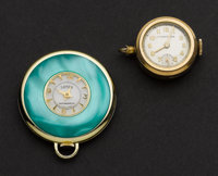 Two Swiss Fancy Pendant Watches Runners