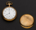 Timepieces:Pocket (post 1900), Waltham 21 Jewel Model 845 Pocket Watch. ...