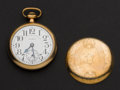Timepieces:Pocket (post 1900), Elgin 21 Jewel Father Time Pocket Watch. ...