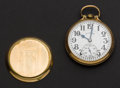 Timepieces:Pocket (post 1900), Illinois 21 Jewel Grade 161A Elinvar Bunn Special Pocket Watch. ...