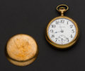 Timepieces:Pocket (post 1900), Hamilton 17 Jewel 18 Size Pocket Watch. ...