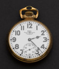 Timepieces:Pocket (post 1900), Ball 21 Jewel Official Standard Pocket Watch. ...