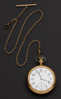 Timepieces:Pocket (post 1900), Hamilton 23 Jewel Grade 946 Pocket Watch. ...