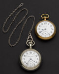Timepieces:Pocket (post 1900), Two Hamilton 21 Jewel One Is A 940 Pocket Watches Runners. ...(Total: 2 Items)