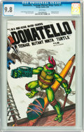 Modern Age (1980-Present):Humor, Donatello, Teenage Mutant Ninja Turtle #1 (Mirage Studios, 1986)CGC NM/MT 9.8 White pages....