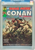 Magazines:Adventure, Savage Sword of Conan #1 (Marvel, 1974) CGC NM- 9.2 Off-white to white pages....