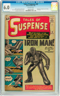 Silver Age (1956-1969):Superhero, Tales of Suspense #39 (Marvel, 1963) CGC FN 6.0 Off-white pages....