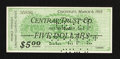 Obsoletes By State:Ohio, Cincinnati, (OH)- Central Trust Co. $5 Mar. 6, 1933. ...