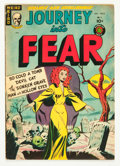 Golden Age (1938-1955):Horror, Journey Into Fear #5 (Superior, 1952) Condition: FN+....