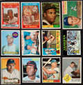 Baseball Cards:Lots, 1950's-1970's Topps Baseball Superstars and Hall of FamersCollection (15). ...