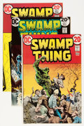 Bronze Age (1970-1979):Horror, Swamp Thing Group (DC, 1973-74) Condition: Average VF-.... (Total:6 Comic Books)