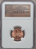 2009 1C Formative Years First Day of Issue MS66 Red NGC. NGC Census: (0/0). PCGS Population (628/4). Numismedia Wsl. Pri...