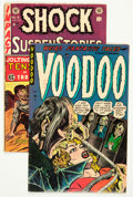 Golden Age (1938-1955):Horror, Comic Books - Assorted Golden Age Horror Comics Group (VariousPublishers, 1953-54).... (Total: 2 Comic Books)