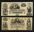 Obsoletes By State:Louisiana, New Orleans, LA- Canal Bank $20. New Orleans, LA- Canal Bank $50. ... (Total: 2 notes)