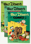 Golden Age (1938-1955):Cartoon Character, Walt Disney's Comics and Stories Group (Dell, 1949-53) Condition:Average VG.... (Total: 12 Comic Books)