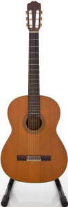 Musical Instruments:Acoustic Guitars, 1976 Takamine C-150S Natural Classical Guitar, #76120347....