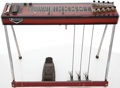 Musical Instruments:Lap Steel Guitars, Circa 1970's Emmons 10-String Redburst Pedal Steel Guitar, #GS 150....