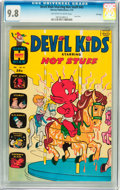 Bronze Age (1970-1979):Humor, Devil Kids Starring Hot Stuff #43 File Copy (Harvey, 1970) CGCNM/MT 9.8 Off-white to white pages....
