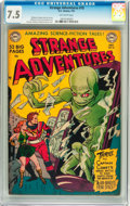 Golden Age (1938-1955):Science Fiction, Strange Adventures #10 (DC, 1951) CGC VF- 7.5 Off-white pages....