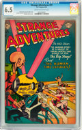 Golden Age (1938-1955):Science Fiction, Strange Adventures #31 (DC, 1953) CGC FN+ 6.5 Cream to off-whitepages....