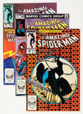 Modern Age (1980-Present):Superhero, The Amazing Spider-Man Group (Marvel, 1977-92) Condition: AverageVF/NM....
