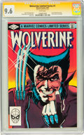 Modern Age (1980-Present):Superhero, Wolverine Limited Series #1 Signed by Stan Lee (Marvel, 1982) CGCSignature Series NM+ 9.6 White pages....