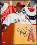 """Baseball Collectibles:Photos, Albert Pujols """"12-10-11"""" Signed Oversized Los Angeles Angels Photograph...."""