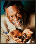 Basketball Collectibles:Photos, Bill Russell Signed Oversized Photograph, PSA Gem Mint 10. ...