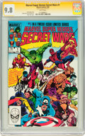 Modern Age (1980-Present):Superhero, Marvel Super Heroes Secret Wars #1 Signed by Stan Lee (Marvel,1984) CGC Signature Series NM/MT 9.8 White pages....