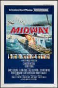 "Movie Posters:War, Midway (Universal, 1976). One Sheet (27"" X 41""). Flat Folded. War....."