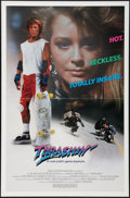 """Movie Posters:Action, Thrashin' (Fries Entertainment, 1986). One Sheet (27"""" X 41""""). FlatFolded. Action.. ..."""