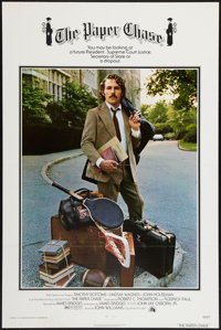 """The Paper Chase (20th Century Fox, 1973). One Sheet (27"""" X 41"""") Style B. Flat Folded. Drama"""