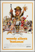 """Movie Posters:Comedy, Bananas (United Artists, 1971). One Sheet (27"""" X 41""""). Flat Folded.Comedy.. ..."""
