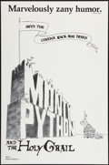 """Movie Posters:Comedy, Monty Python and the Holy Grail (Cinema 5, 1975). One Sheet (27"""" X41""""). Flat Folded. Comedy.. ..."""