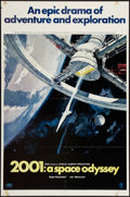 """Movie Posters:Science Fiction, 2001: A Space Odyssey (MGM, 1968). One Sheet (27"""" X 41""""). Style A.Science Fiction.. ..."""