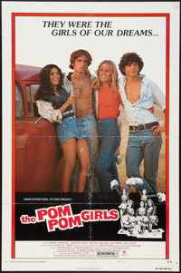 """The Pom Pom Girls & Others Lot (Crown International, 1976). One Sheets (3) (27"""" X 41"""") & Promo..."""