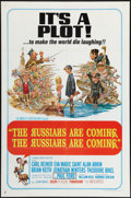 "Movie Posters:Comedy, The Russians Are Coming, the Russians Are Coming (United Artists, 1966). One Sheet (27"" X 41""). Comedy.. ..."