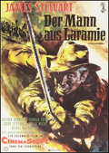 "Movie Posters:Western, The Man from Laramie (Columbia, 1955). German A1 (23"" X 33"").Western.. ..."