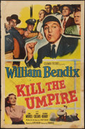 """Movie Posters:Sports, Kill the Umpire (Columbia, 1950). One Sheet (27"""" X 41""""). Sports.. ..."""