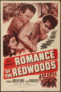 "Movie Posters:Action, Romance of the Redwoods (Columbia, R-1951). One Sheet (27"" X 41"").Action.. ..."