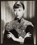 "Movie Posters:Photo, Anna May Wong by Eugene Robert Richee (Paramount, 1937). PortraitPhoto (12.5"" X 16""). Photo.. ..."