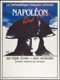 """Movie Posters:War, Napoleon (Cinematheque Francaise, R-1983). French Grande (47"""" X63""""). War.. ..."""